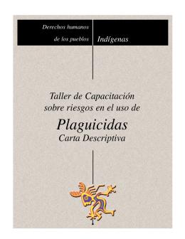 Huicholes y Plaguicidas