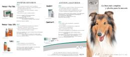 Folleto Farmacéuticos Animales de Compañía
