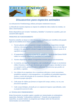 Folleto Disuasorio Animales