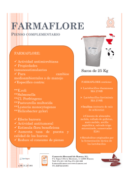FARMAFLORE FOLLETO
