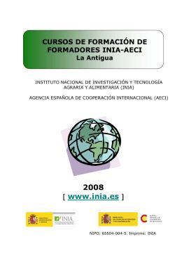 folleto Guatemala 2008 - IARNA Instituto de Agricultura