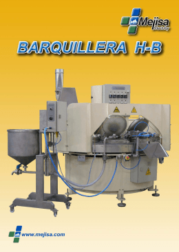 Folleto Barquillera H