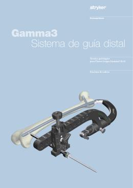 Gamma3 Sistema de guía distal