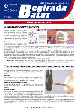 Begirada Batez Nº3 2008( pdf , 644 KB )