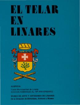 Et TEtAR EN tlNARES - Museo de Arte y Artesanía de Linares