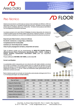Folleto Piso Tecnico b
