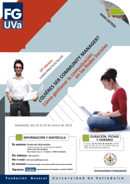 2012 COMMUNITY MANAGER III Folleto.cdr