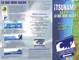 Tsunami! - Oregon Department of Geology and Mineral Industries