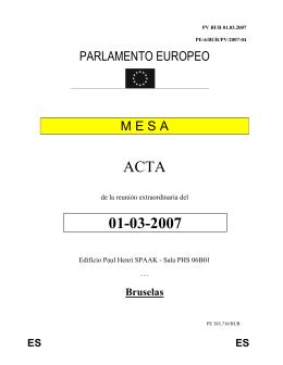 ACTA 01-03-2007