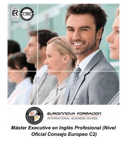 Máster Executive en Inglés Profesional (Nivel Oficial