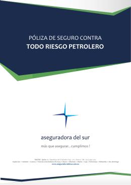 TODO RIESGO PETROLERO