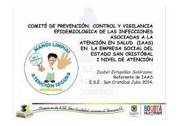Comite de IAAS Julio de 2014