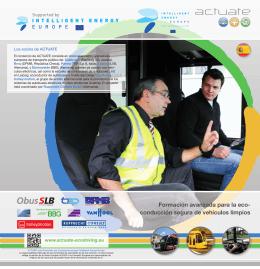 Formación avanzada para la eco- conducción segura de vehículos