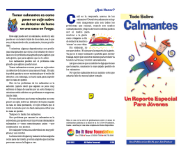 Todo Sobre Calmantes - Do It Now Foundation