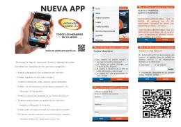 Descarga la App de Autocares Carrió y además de poder