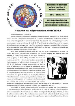 Marzo - Parroquia San Lucas