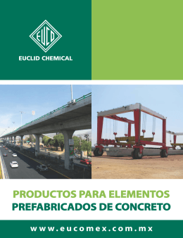 Folleto Prefabricados (2012)