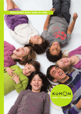 2015-10 KUMON Folleto informativo