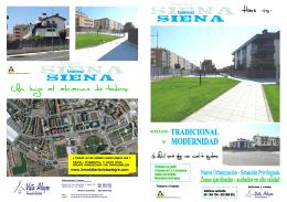 Folleto RESIDENCIAL SIENA III