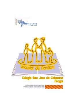 folleto de presentación - `san josé de calasanz` :: fraga