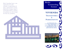 VIVIENDA VIVIENDA - Berks Counseling Center