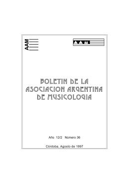 Descarga - Asociación Argentina de Musicología