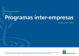 Programas inter-empresas