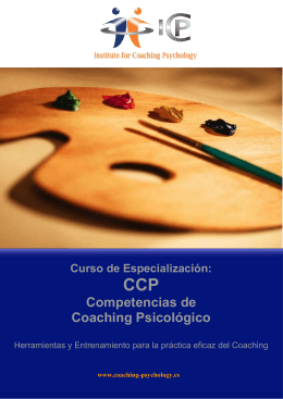 Folleto Competencias texto V6_LP - Institute for Coaching Psychology