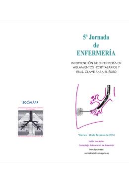 5ª Jornada de Enfermería Febrero 2014