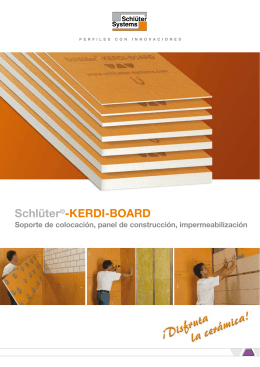 Folleto Schlüter ® -KERDI