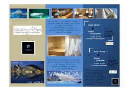 folleto cac-hostal penalty-ok - Ciudad de las Artes y las Ciencias