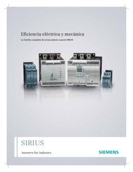 Arrancadores suaves SIRIUS - Carol Automatismos Igualada SA