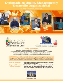 Folleto 2009 - Universidad de Chile