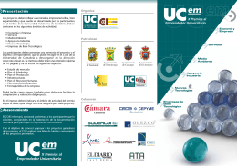 folleto coie premios 2012 - Universidad de Cantabria
