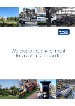 Brochure Valoriza Servicios Medioambientales 2015