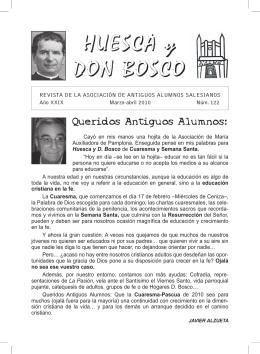 HUESCA y DON BOSCO - Colegio Salesianos de San Bernardo
