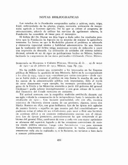 NOTAS BIBLIOGRÁFICAS 499