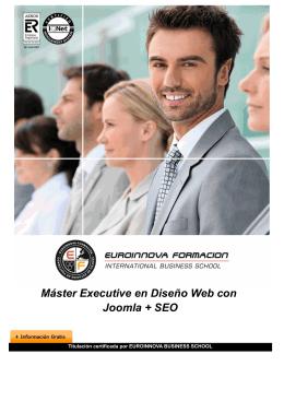 Máster Executive en Diseño Web con Joomla + SEO