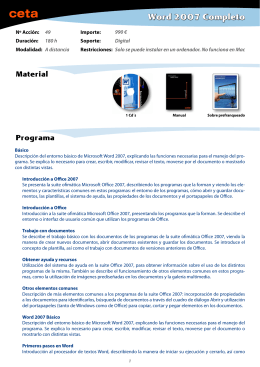 Word 2007 Completo