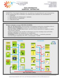 Nota informativa - Fitter Instalaciones