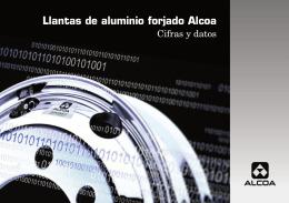 Llantas de aluminio forjado Alcoa