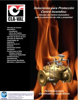incendios - Valvulas Cla Val