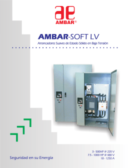 Folleto Ambar Soft LV - Mercado