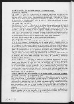 """""""Le Fígaro"""", 13 junio. - Aprovechando la presencia del festival de"""