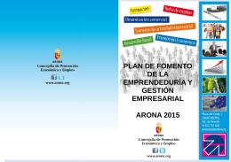 Folleto talleres emprendedores junio 2015