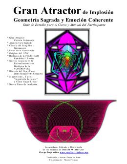 Gran Atractor de Implosión Geometría Sagrada y Emoción