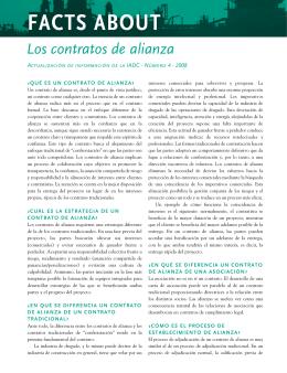 Contratos de Alianza - International Association of Dredging