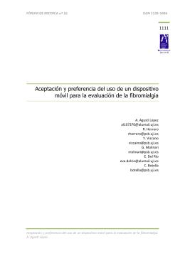 FÒRUM DE RECERCA nº 16 ISSN 1139-5486