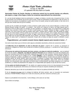 Instituto Rafael Pombo Floridablanca