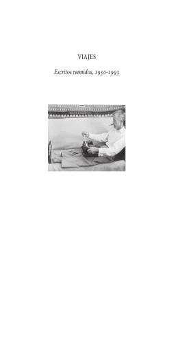 VIAJES Escritos reunidos, 1950-1993